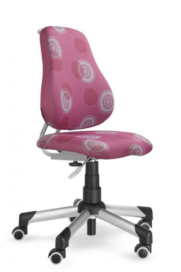 Rostoucí židle Mayer Actikid růžová s kruhy