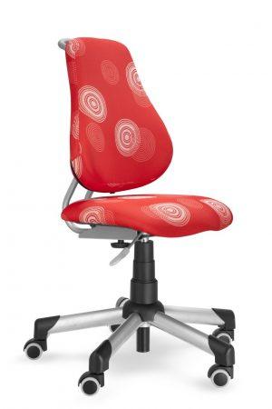 Rostoucí židle Mayer Actikid červená s kruhy