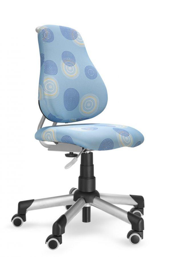 Rostoucí židle Mayer Actikid modrá s kruhy