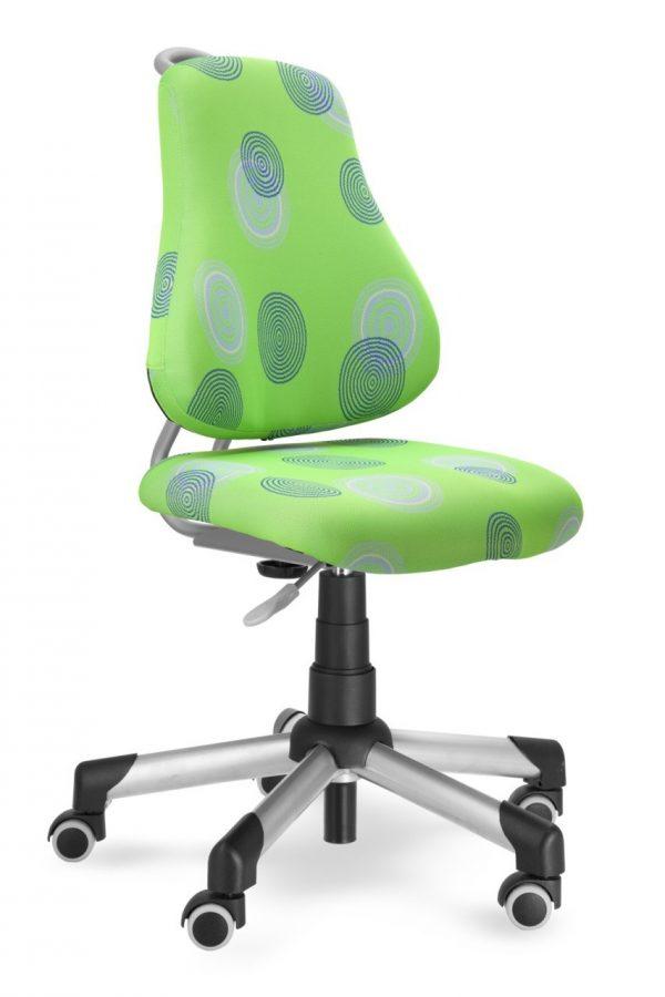 Rostoucí židle Mayer Actikid zelená s kruhy
