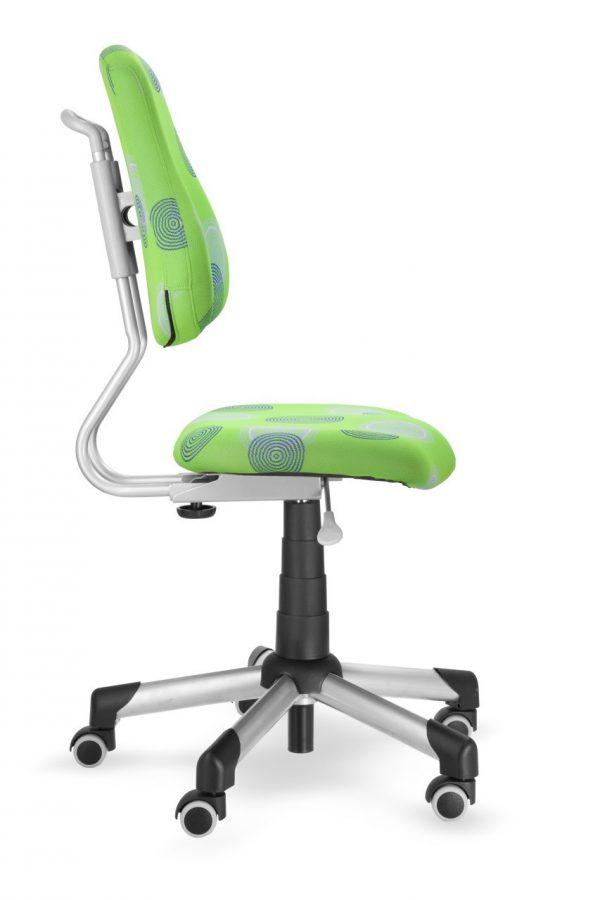 Rostoucí židle Mayer Actikid zelená s kruhy z boku
