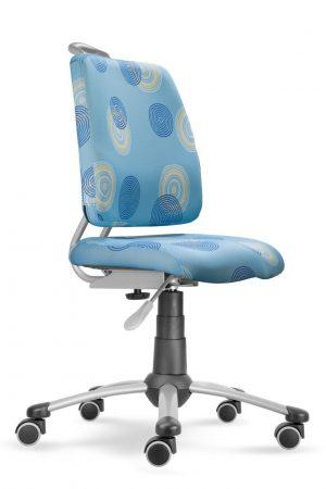 Rostoucí židle Actikid A3 Smile modrá s kruhy