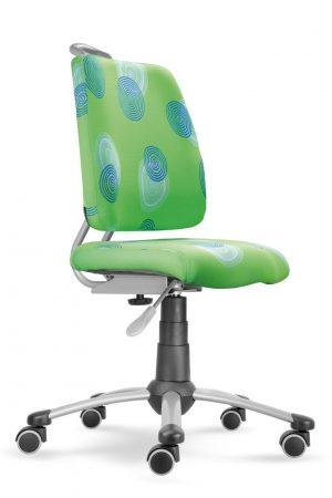 Rostoucí židle Actikid A3 Smile zelená s kruhy