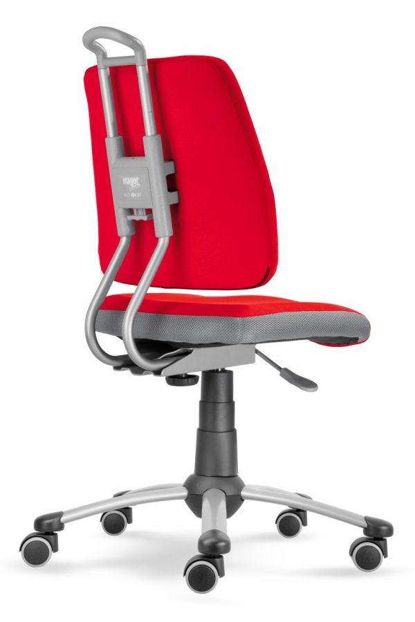 Rostoucí židle Actikid A3 Smile červený aquaclean zadní pohled
