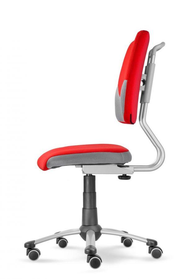 Rostoucí židle Actikid A3 Smile červený aquaclean boční pohled
