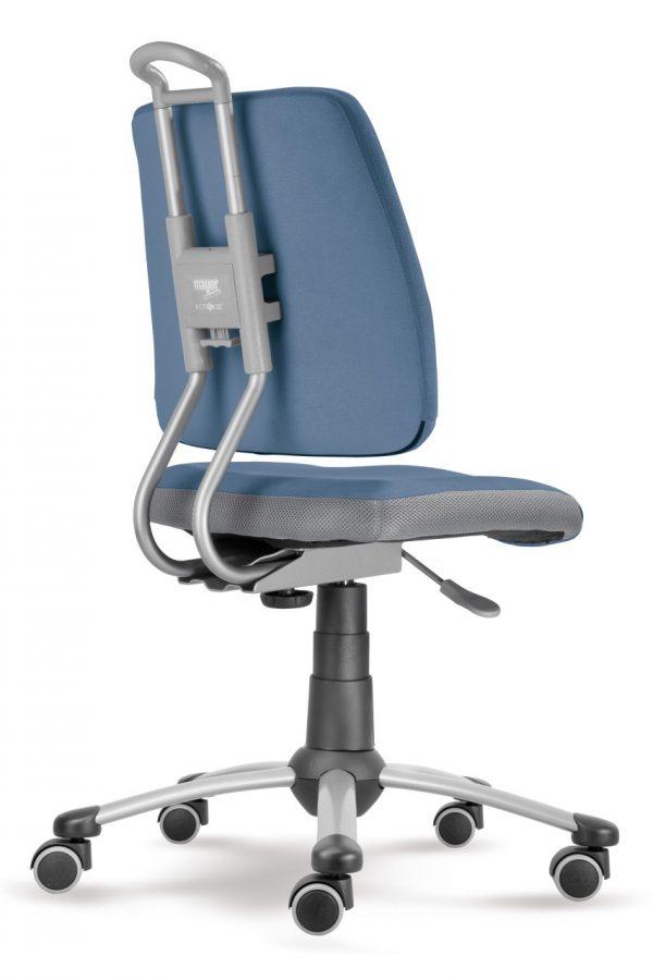 Rostoucí židle Actikid A3 Smile modrošedý aquaclean zadní pohled