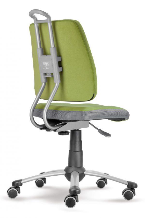 Rostoucí židle Actikid A3 Smile - zelený aquaclean zadní pohled