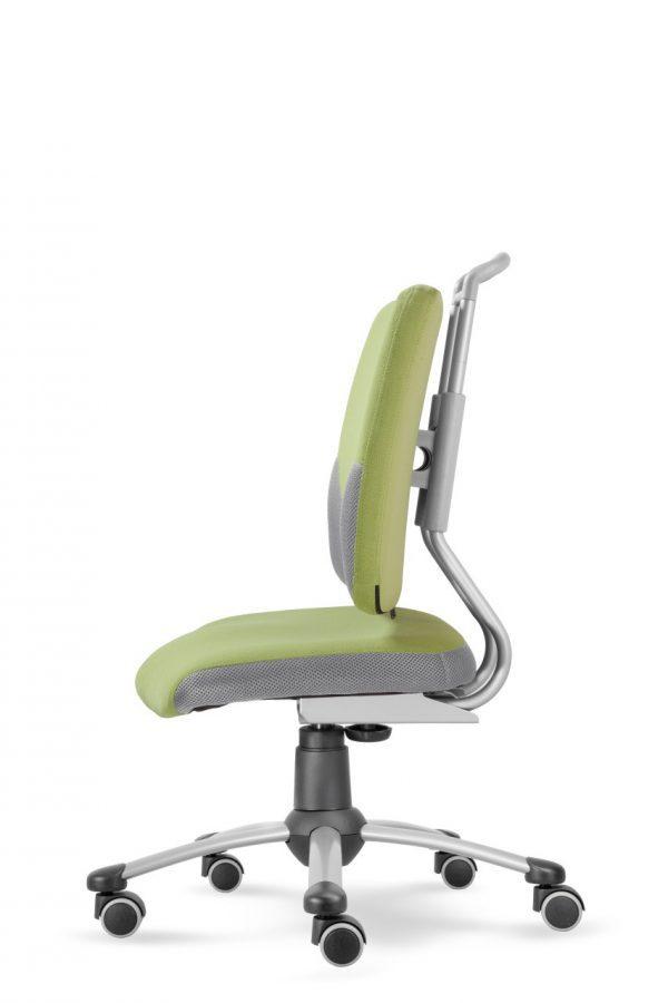 Rostoucí židle Actikid A3 Smile - zelený aquaclean z boku