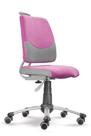 Rostoucí židle Actikid A3 Smile - růžový aquaclean