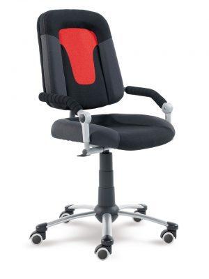 Rostoucí židle Freaky Sport černá / antracit / červená