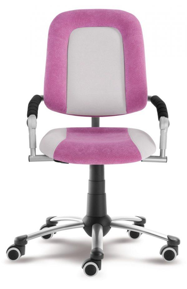 Rostoucí židle Freaky Sport aquaclean růžová / šedá