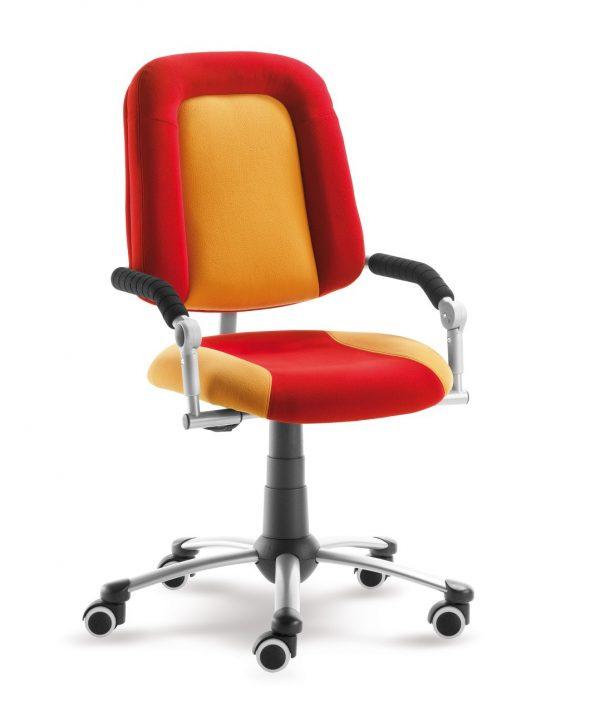 Rostoucí židle Freaky Sport aquaclean červená / žlutá