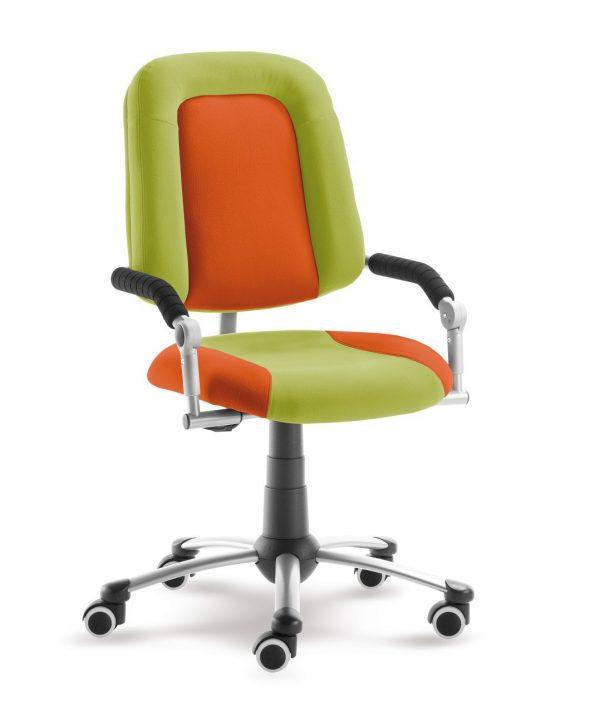 Rostoucí židle Freaky Sport aquaclean zelená / oranžová
