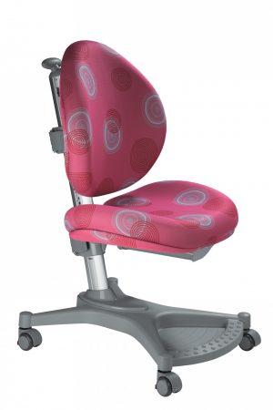Rostoucí židle Mayer MyPony růžová s kruhy