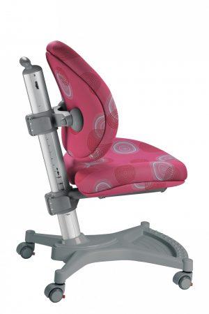Židle pro školáky Mayer MyPony růžová s kruhy