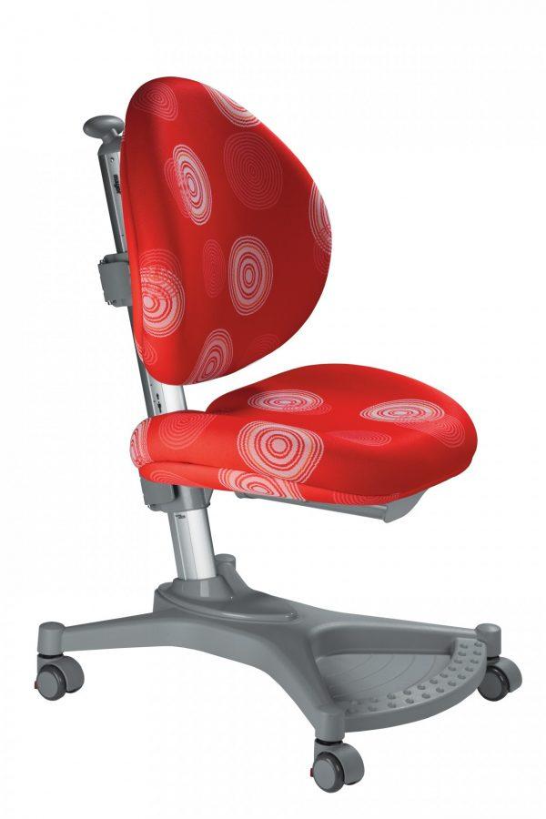 Rostoucí židle Mayer MyPony červená s kruhy