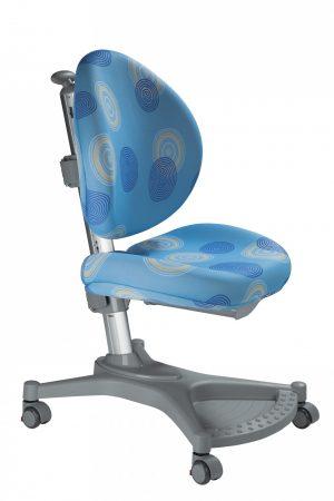 Rostoucí židle Mayer MyPony modrá s kruhy