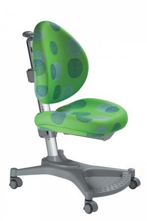 Rostoucí židle Mayer MyPony zelená s kruhy