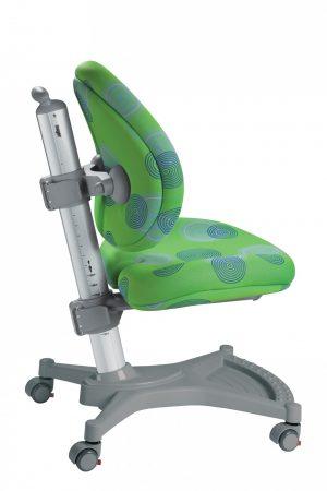 Židle pro školáky Mayer MyPony zelená s kruhy
