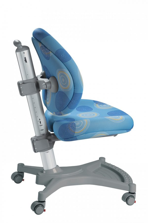 Židle pro školáky Mayer MyPony modrá s kruhy