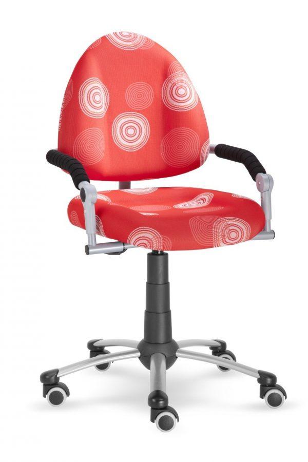 Rostoucí židle Mayer Freaky červená s kruhy
