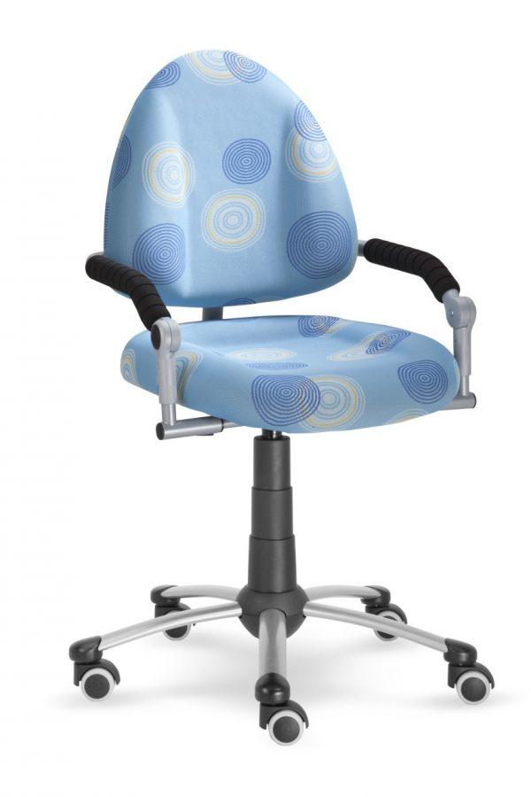 Rostoucí židle Mayer Freaky modrá s kruhy