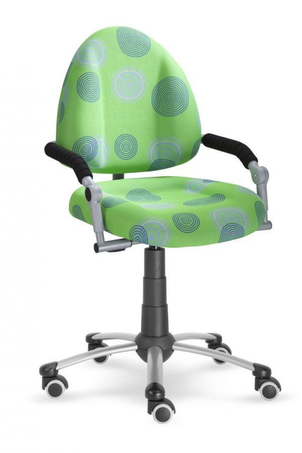 Rostoucí židle Mayer Freaky zelená s kruhy