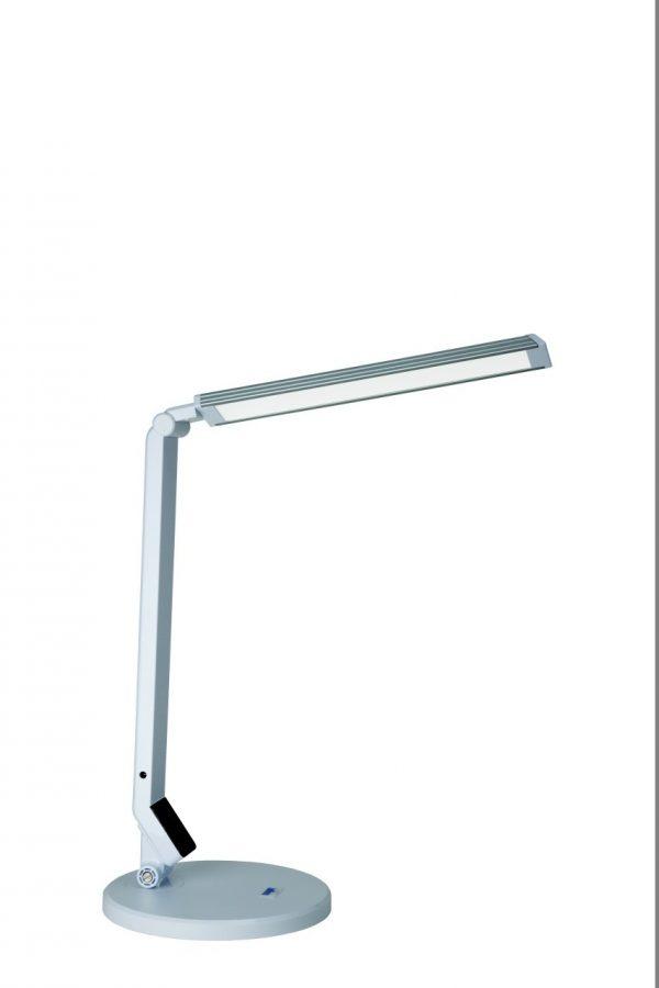 Bílá stolní LED lampa Mayer