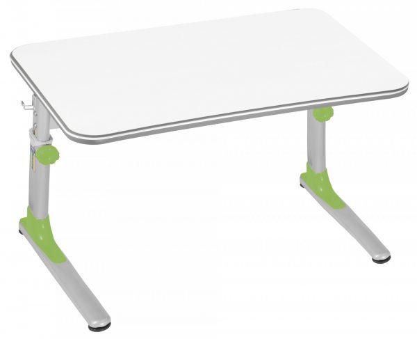 Rostoucí stůl Mayer Junior zelený / bílá deska