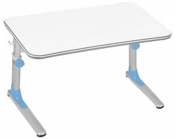 Rostoucí stůl Mayer Junior modrý / bílá deska