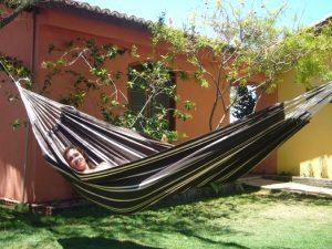 AMAZONAS houpací síť - Barbados mocca