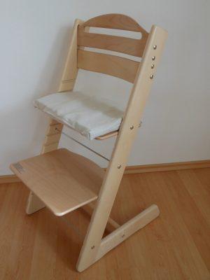 Rostoucí židle Jitro Baby přírodní lak