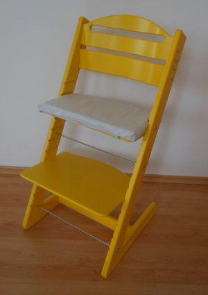 Rostoucí židle Jitro Baby žlutá