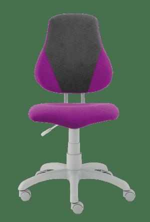 Dětská rostoucí židle Fuxo V-Line fialová / šedá