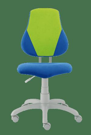 Dětská rostoucí židle Fuxo V-Line tmavě modrá / jasně zelená
