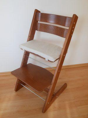 Rostoucí židle Jitro Klasik ořech