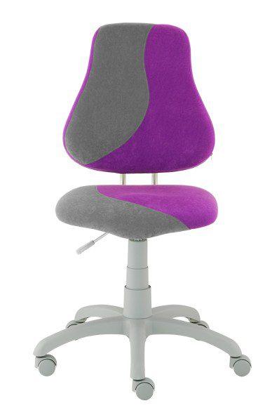 Rostoucí židle Alba Fuxo S-Line fialová/šedá