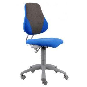 Rostoucí židle Fuxo V-Line modrá/šedá