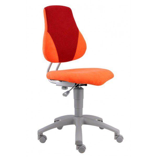 Rostoucí židle Alba Fuxo V-Line oranžová/vínová