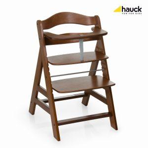 Rostoucí židle Hauck Alpha Walnut