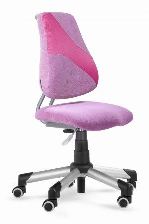 Rostoucí židle Actikid A2 M1 - růžový aquaclean + síťovina