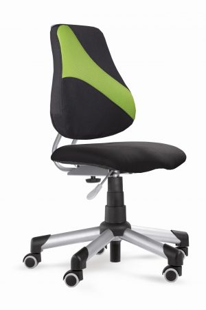 Rostoucí židle Actikid A2 M1 - černý aquaclean + zelená síťovina