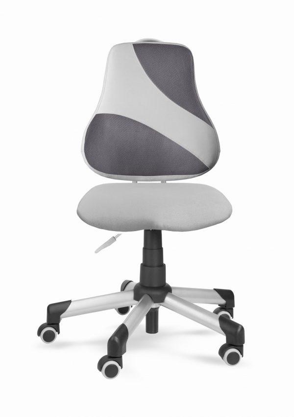 Židle pro školáky Actikid A2 M2 - šedý aquaclean + síťovina
