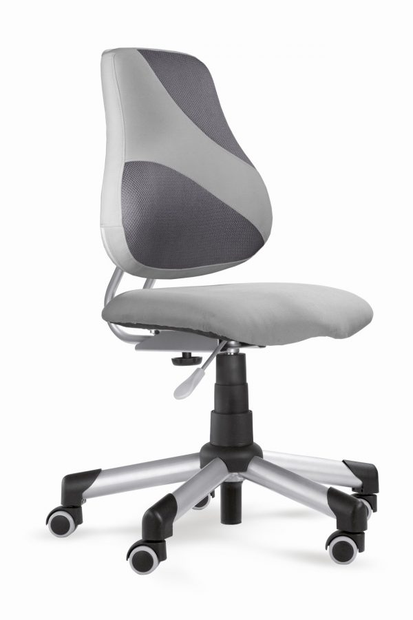 Rostoucí židle Actikid A2 M2 - šedý aquaclean + síťovina
