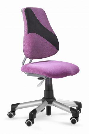 Rostoucí židle Actikid A2 Q1 - aquaclean růžový + černý