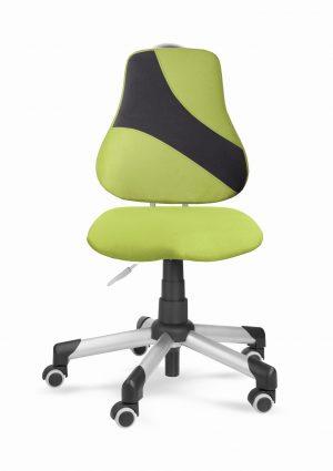Židle pro školáky Actikid A2 Q1 - aquaclean zelený + černý