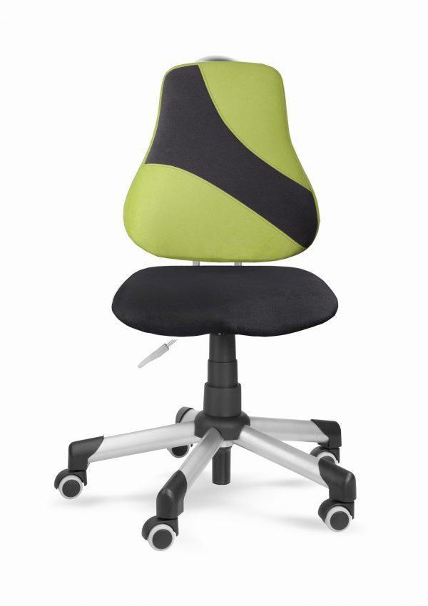 Židle pro školáky Actikid A2 Q2 - aquaclean černý + zelený