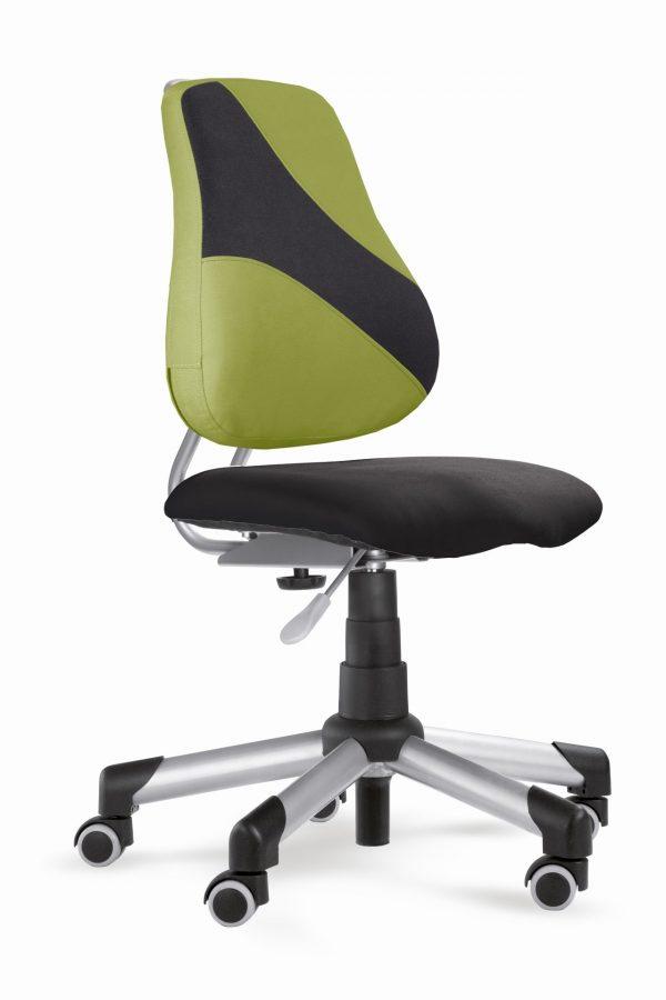 Rostoucí židle Actikid A2 Q2 - aquaclean černý + zelený