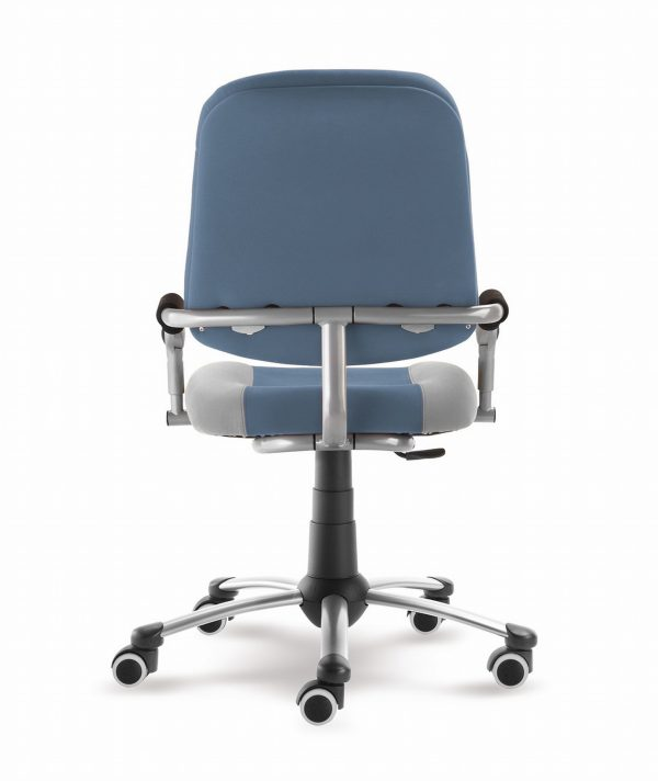 Rostoucí židle Freaky Sport modrošedá / šedá zadní pohled