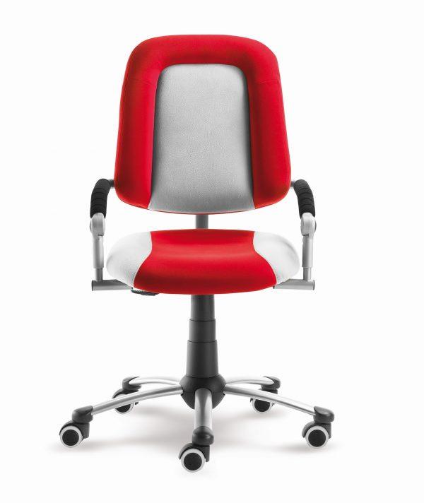 Židle pro školáky Freaky Sport červená / šedá